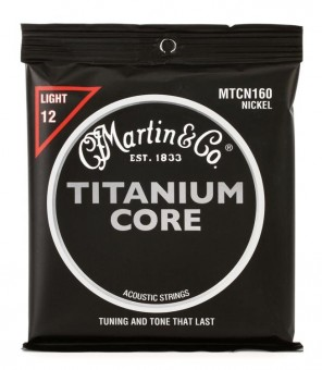 Martin MTCN160 Titanium Core Light 12-55