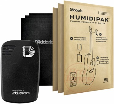 Planet Waves PW-HPHT-01 Humidikit - Humiditrak / Humidipak Bundle
