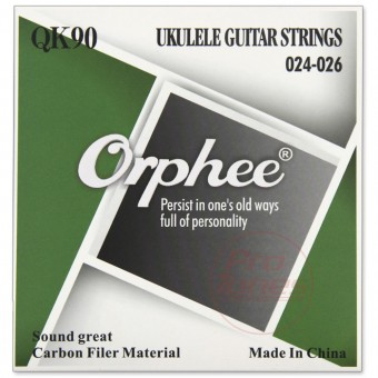 Orphee QK90 Ukulele Carbon Filer 24-26