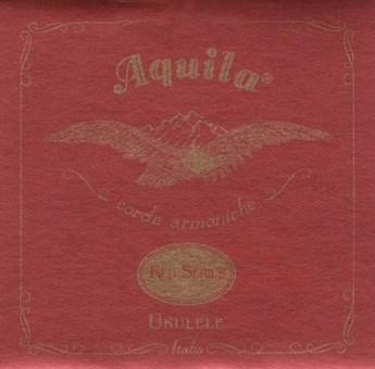 Aquila 89U Red Series Baritone Low-D Tuning Ukulele Strings