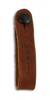 Martin 18A0032 Brown Headstock Guitar Strap Tie