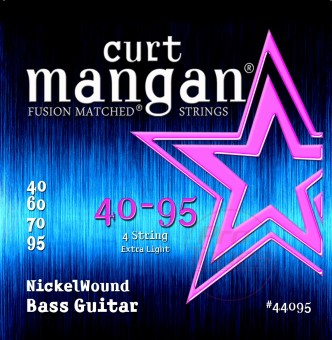 Curt Mangan 44095 Extra Light Nickel Wound 40/95
